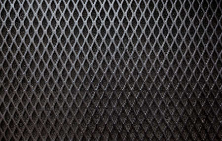 grille: metal grid background.Front Speaker