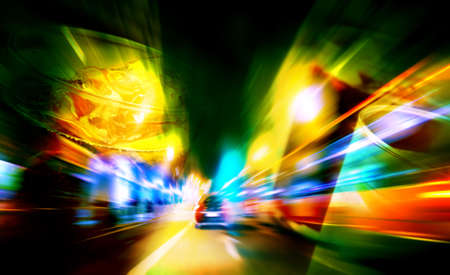 drink and drive: abstract background concept of alcoholic beverages and driving Stock Photo