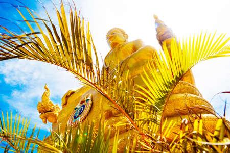 monasteri: Big Buddha a Phuket island.Temple e il monastero in Thailandia Archivio Fotografico