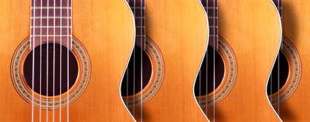 Spanish guitar and music background