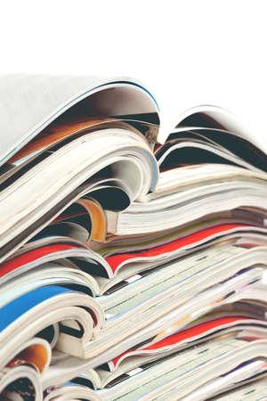 Giornale e giornale. Intrattenimento e svago. Pubblicazione su riviste e libri in background