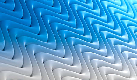 Blue texture and wavelegth pattern.Abstract wave and ripple surface background.3d illustration