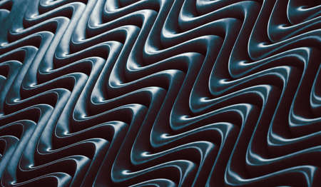 Dark texture and wavelegth pattern.Abstract wave and ripple surface background.3d illustration