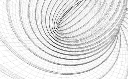 Swirl lines pattern