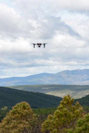 Long endurance drone prototype for surveillance and rescue (Aerogenix) Standard-Bild