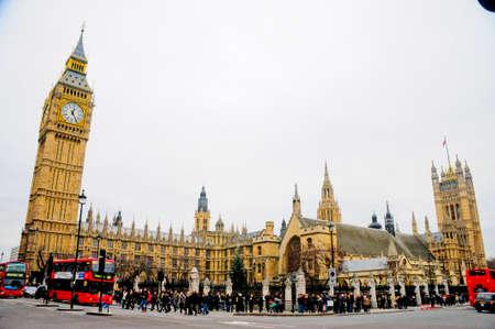 big ben street - london
