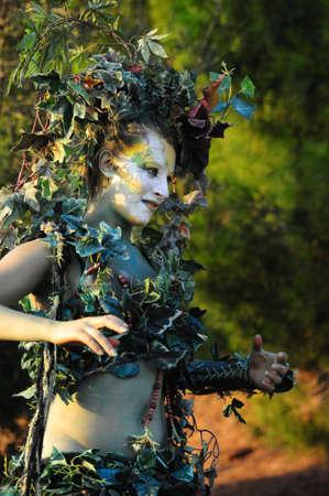 Gaia - earth goddess  Editorial