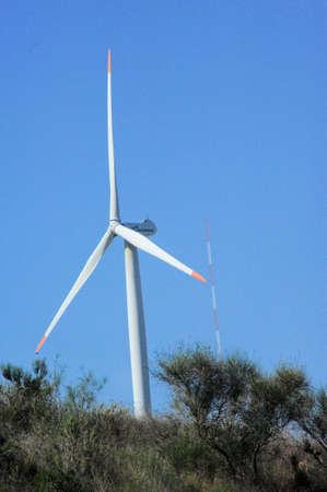 eólic energy pure energy Stock Photo