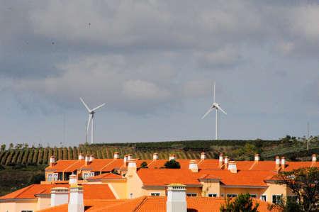 eólic energy houses