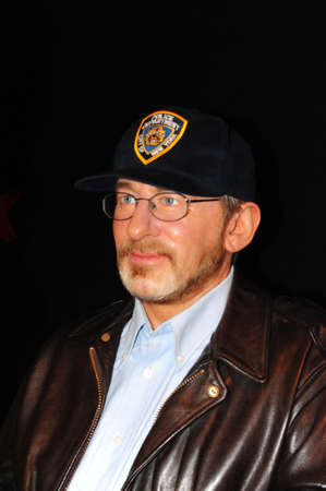 screenwriter: Steven Spielberg - wax figure at Madame Tussauds in london Editorial