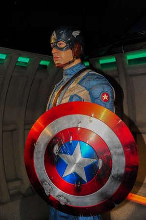 Captain America Stock Photo - 19443164