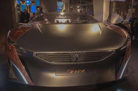 front end: Peugeot Onyx - Front End