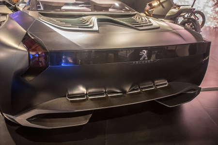 Peugeot Onyx -Tail-Lights
