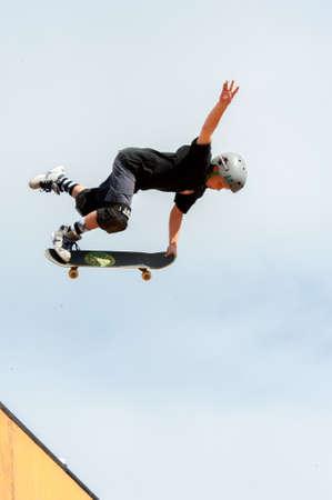 elliot: Logan Cogswell  - stunt - TONY HAWK AND FRIENDS SHOW 2014 - Cascais