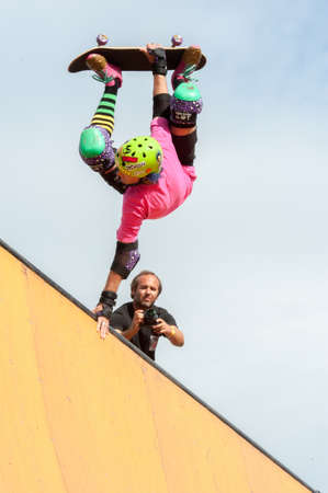 kevin staab - stunt - TONY HAWK AND FRIENDS SHOW 2014 - Cascais Editorial