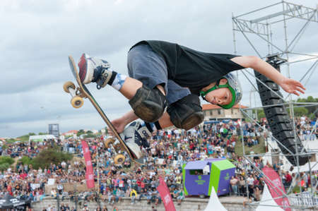Logan Cogswell  - TONY HAWK AND FRIENDS SHOW 2014 - Cascais Editorial