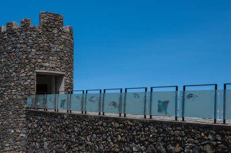 Input Wall Porto Moniz Madeira Portugal