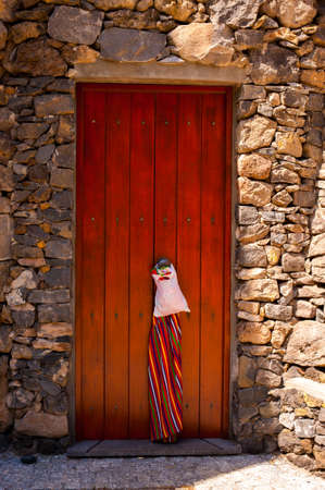 Delivery to Door , Porto Moniz, Ilha da Madeira, Portugal Stock Photo