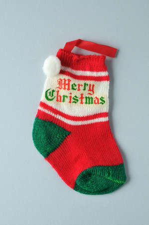 Christmas sock.  Stock Photo - 11407235