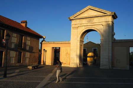 Gate of  Madrid ( 1778  ).Alcala de Henares.SPAIN