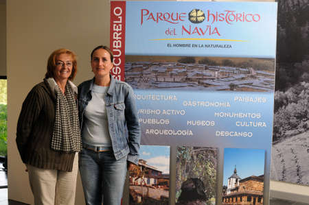 """Gidsen Archeologisch Museum """"Chao Samartin"""" Grandas de Salime Asturias SPANJE"""