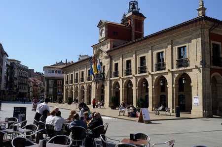 City council house in AVILES . Principado de Asturias . SPAIN Stock Photo - 11767330