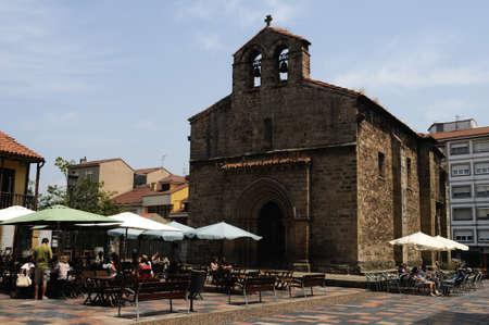 aviles:  Carbayo Square  in AVILES . Principado de Asturias . SPAIN