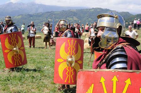 Roman  legionnaires.