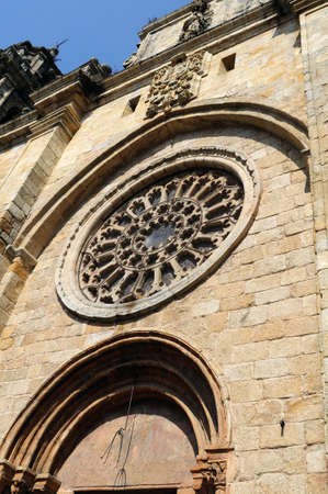"""escarapelas: Catedral (13 º) """"Plaza de España"""" MONDOEDO. Provincia de Lugo. Galiza. ESPAÑA Editorial"""
