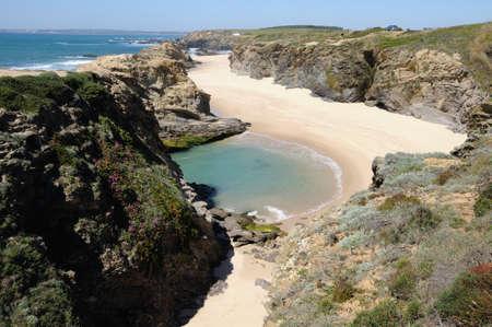 Beach .PORTO COVO.  Sines council.Alentejo Region  PORTUGAL.