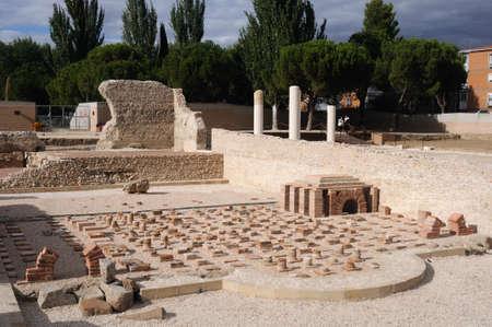 Thermal baths of the Roman City of Complutum  ALCALA DE HENARES Madrid  SPAIN