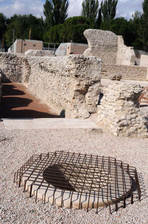 Well of the Roman City of Complutum  ALCALA DE HENARES Madrid  SPAIN
