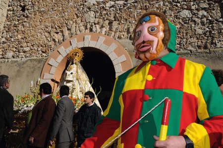 Mazuecos SPAIN - 24 JANUARY,2011 - ;  Feast