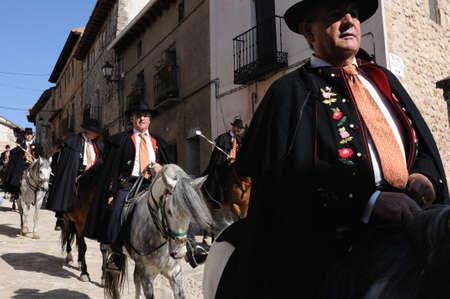 SPAIN. Castilla-La Mancha. Guadalajara. ATIENZA; Feast