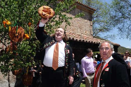 SPAIN. Castilla-La Mancha. Guadalajara. ATIENZA ;  Feast   LA CABALLADA .