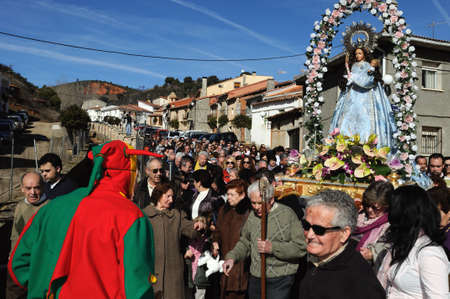 Retiendas, SPAIN - 06 FEBRUARY,2011 - ; CARNIVAL