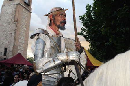 Quixote Market  Cervantes Week  in ALCALA DE HENARES.Community of Madrid .SPAIN