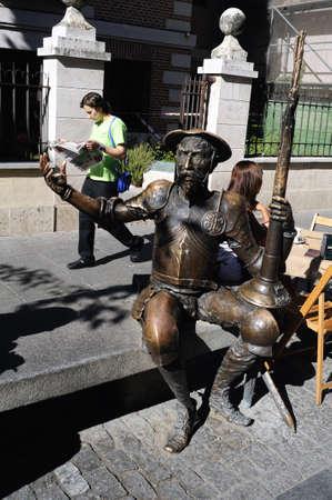 fiesta popular:  Quixote Market  Cervantes Week in  ALCAL� DE HENARES  Community of Madrid .SPAIN.