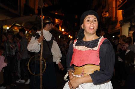 Quixote Market  Cervantes Week in  ALCAL� DE HENARES  Community of Madrid .SPAIN.