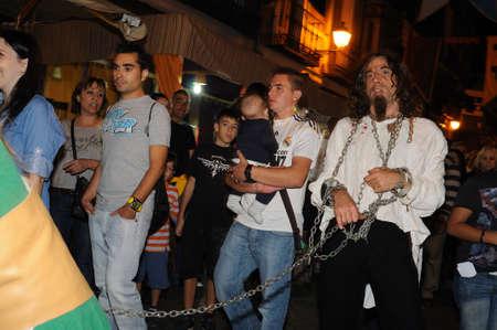 Quixote Market  Cervantes Week  in ALCALA DE HENARES.Community of Madrid .SPAIN  Editorial
