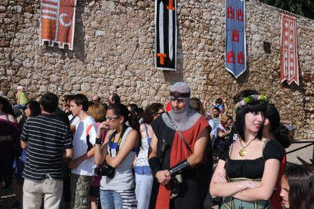 Hita ,SPAIN- 03 July ,2010 - Medieval Festival in HITA .Province of Guadalajara .SPAIN.