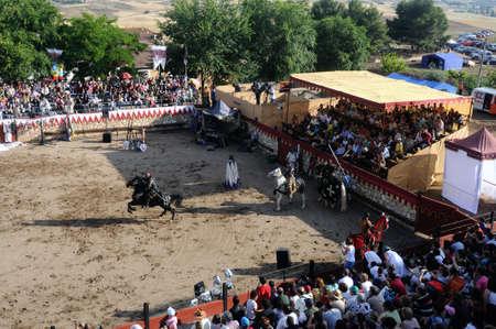 Hita ,SPAIN- 03 July ,2010 - Medieval Festival in HITA .Province of Guadalajara .SPAIN.   Stock Photo - 12878106