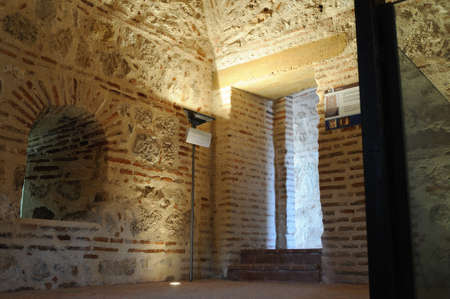 Interior Watchtower  belonging to the Wall of  ALCALA DE HENARES ( 13 th ). Community of Madrid .SPAIN  Stock Photo - 13714454
