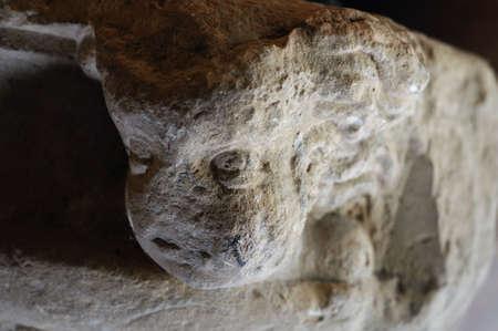 Child Bas- Relief . Corinthian chapiter  .  Renaissance (  Plateresque )