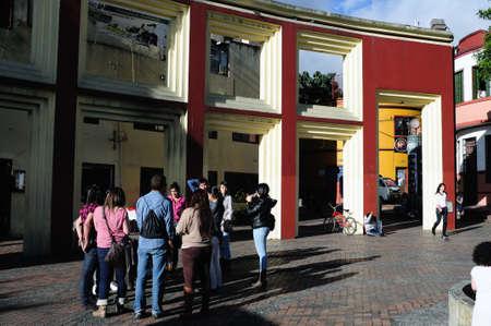 Chorro de Quevedo  -  La Candelaria  in  BOGOTA. Department of Cundimarca. COLOMBIA