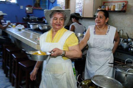 Restaurant  Donde  Ofelia   in  NEIVA. Department of Huila. COLOMBIA
