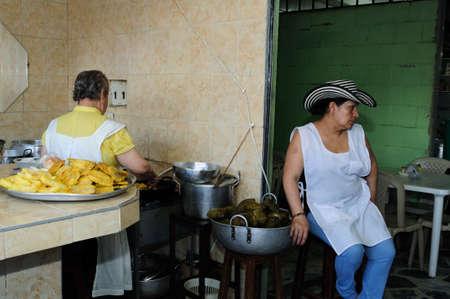 huila:  Restaurant  Donde  Ofelia   in  NEIVA. Department of Huila. COLOMBIA