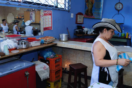 Restaurant ' Donde  Ofelia  ' in  NEIVA. Department of Huila. COLOMBIA