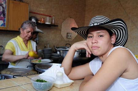 """huila: Restaurante """"Donde Ofelia"""" en Neiva. Departamento del Huila. COLOMBIA Editorial"""