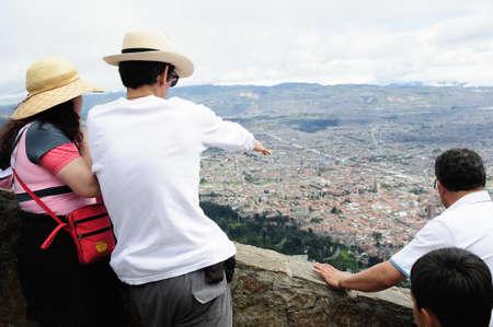 Cerro de Monserrate   ( 3152 m)  in  BOGOTA. Department of Cundimarca. COLOMBIA